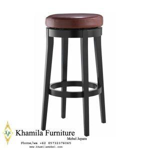 harga kursi bar, kursi bar, kursi bar minimalis, ukuran kursi bar kursi bar kayu, Kursi Bar Kayu Jati, khamila furniture,Bar Chair Dudukan Kulit High Quality