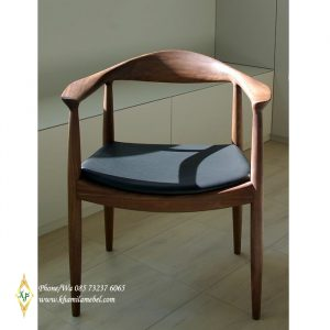 Chair Cafe Scandinavian Kayu Jati